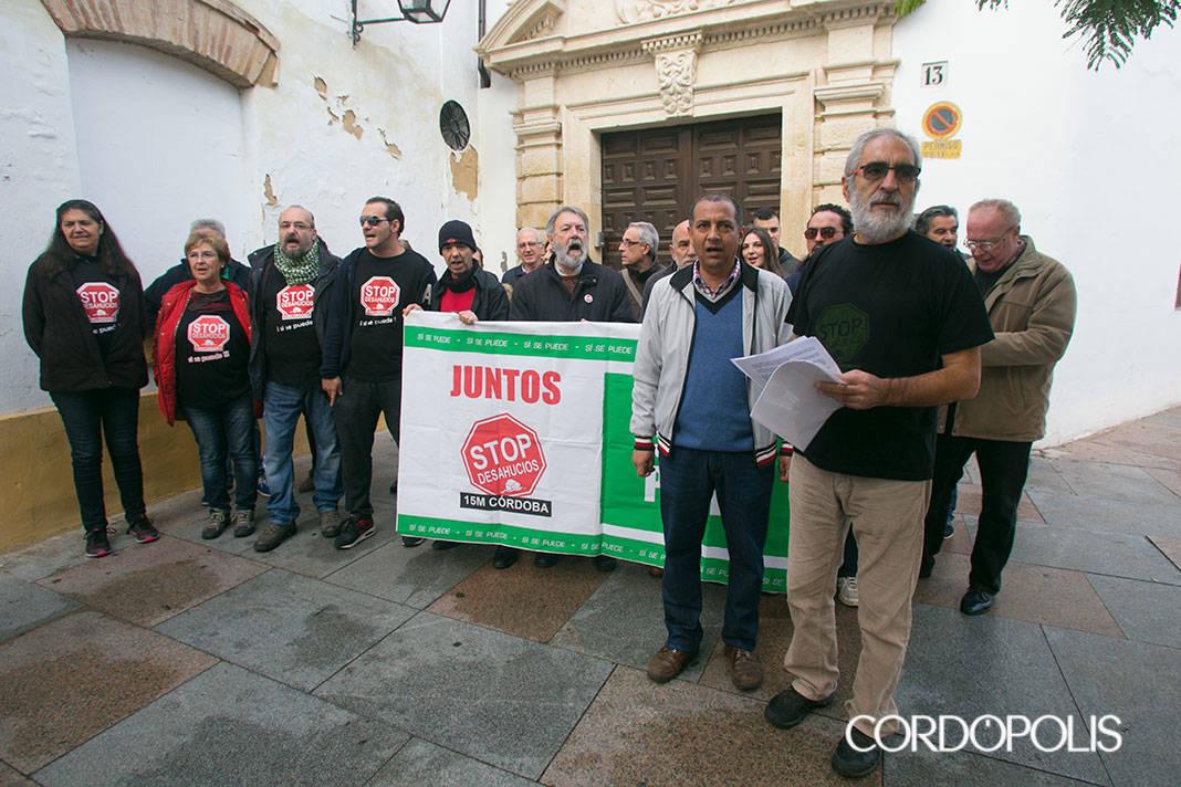Stop Desahucios denuncia el desalojo de una familia que vive en el Convento de las Clarisas