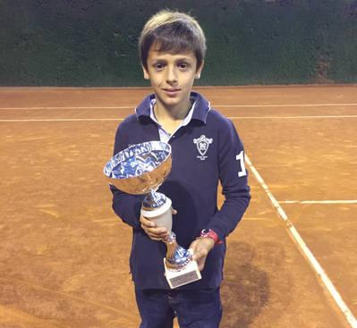 Jan Rubio, campió de l'Open Pifarré al Sícoris