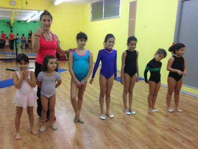 EXHIBICIÓ AERODANCE KIDS 2015