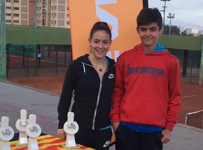 LLOBERA Y GALIANO, GANADORES DEL CIRCUITO JUVENIL EN BARCELONA