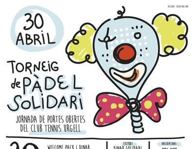 Ocupadas todas las plazas del Torneo de Pádel Solidario