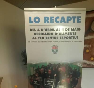PARTICIPA A 'LO RECAPTE' FINS EL 4 DE MAIG