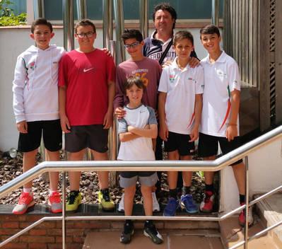 El equipo alevín supera el Set Ball en el Campeonato de Cataluña (resultados del fin de semana)