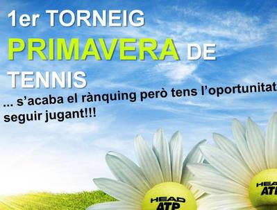 PRIMER TORNEO DE PRIMAVERA DE TENIS
