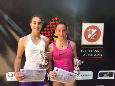 Ares Llobera, subcampeona en el torneo Express CT Tarragona