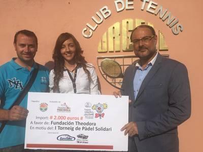 Gràcies a tots! El CT Urgell recull 2.000 euros en el primer Torneig de Pàdel Solidari