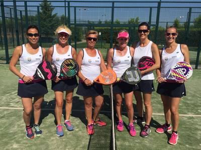Pleno de victorias del CT Urgell en una nueva jornada del Interclubs Femenino de Pádel