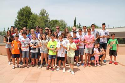 Buena cosecha de títulos para el CT Urgell el Trofeo Aniversario