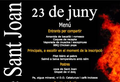 Revetlla de Sant Joan amb sopar i DJ's al Club Tennis Urgell