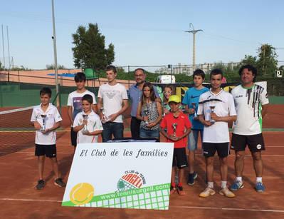 Quatre campions i un semifinalista del CT Urgell al Circuit Juvenil d'Estiu