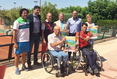 PRESENTAT L'OPEN CIUTAT DE LLEIDA DE TENNIS EN CADIRA DE RODES 2016