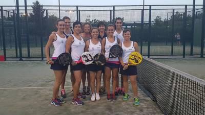 El femenino A del CT Urgell repite título en la Liga Catalana de Pádel
