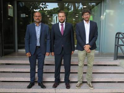 Presentem l'Urgell davant el nou Secretari General de l'Esport