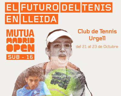 EL MUTUA MADRID OPEN SUB 16, AL CT URGELL
