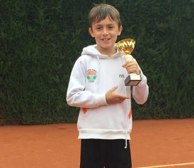 Nil Rubio, campeón del 7º Open Sícoris Club
