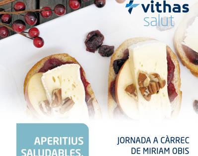 JORNADA DE NUTRICIÓN APERITIVOS SALUDABLES PARA NAVIDAD DE VITHAS
