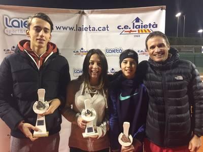 Dos títulos y dos subcampeonatos para el CT Urgell al CE Laietà
