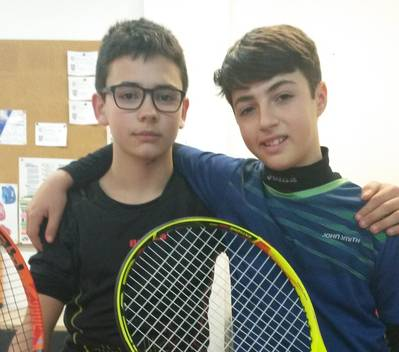 El CT Urgell ya tiene tres semifinalistas en el Open CN Lleida