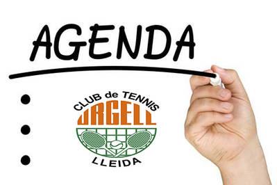 L'AGENDA TENNÍSTICA DEL CAP DE SETMANA: 24, 25 I 26 DE FEBRER