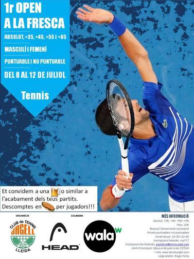 1º Open a la FRESCA Absolutos y seniors