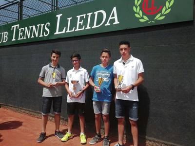 Gerard Farré y Adrià Zaragoza, campeones en el Abierto Prat Llongueras