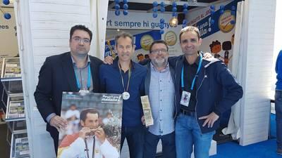 Roger Porta, a l'homenatge a Jordi Arrese