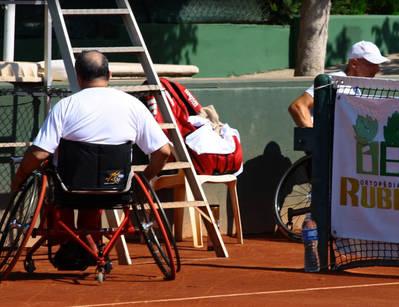 2012 - II Trofeu Internacional de tennis en cadira de rodes Ortopèdia Rubio