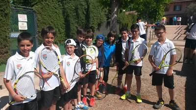Los equipos alevín y cadete masculino, en la fase final de la Liga Catalana
