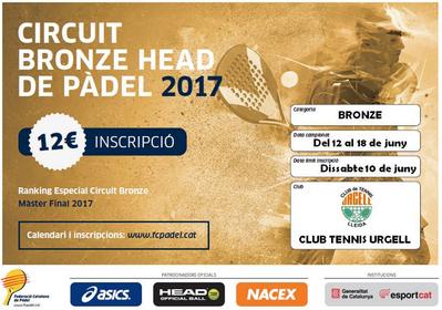 El Circuit Bronze Head de Pàdel arriba del 12 al 18 a les nostres pistes
