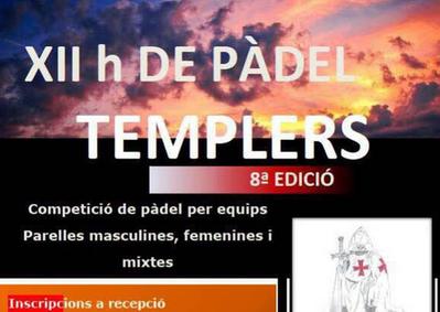 QUADRES DEL PÀDEL TEMPLERS 2017