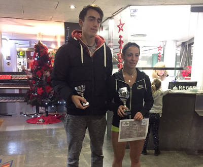 Ares Llobera, campeona absoluta del Torneo de Navidad del CE Laietà