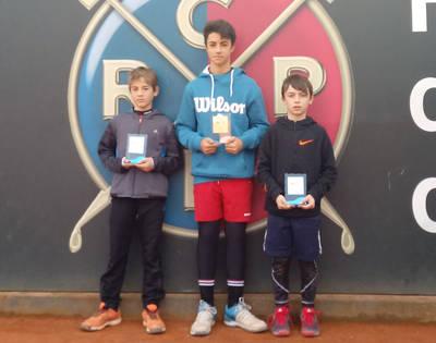 Eloi Pericón, Ares Llobera, Nil Rubio y Álvaro Pérez brillan en el Circuito Juvenil del RCT Polo