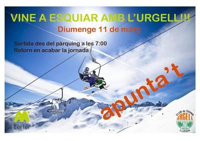 Salida de esquí a Cerler para el domingo 11 de marzo
