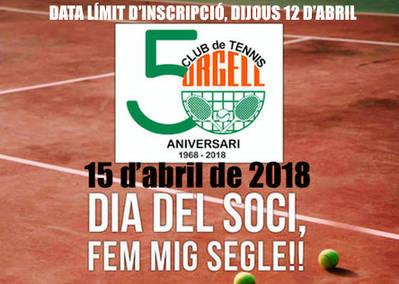 DOMINGO, 15 DE ABRIL, CELEBRAMOS LOS 50 AÑOS DEL CLUB
