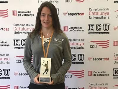 Ares Llobera, campeona de Cataluña en el Universitario