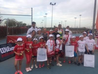 Triunfo del sub 10 femenino en el Xpress Tenis Cup