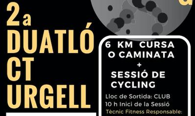 La segunda edición de la Duatlón CT Urgell, el domingo 6 de mayo