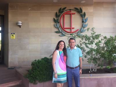 Visita de la presidenta Blanca Nos al CT Lleida