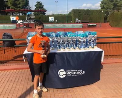 Nil Rubio, subcampeón en el Circuito Juvenil del Reus Monterols