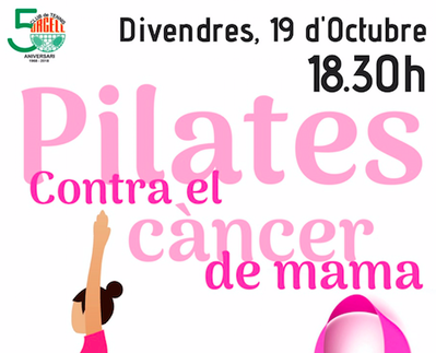 PILATES CONTRA EL CÁNCER DE MAMA, EL DÍA 19 EN EL URGELL