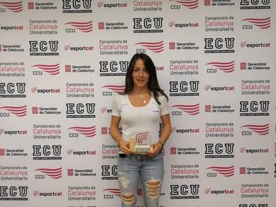 Ares Llobera, distinguida en los premios universitarios del 2018