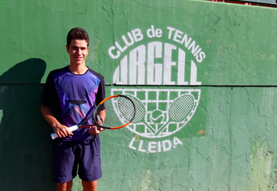 Jordi Buira, a la final juvenil de l'Open Summer Fruit