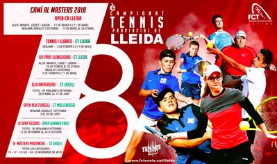 El Tenis Urgell acoge desde hoy el Masters Provincial de Tenis