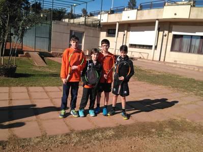 Triunfo del equipo infantil del Tenis Urgell en la Liga Comarcal