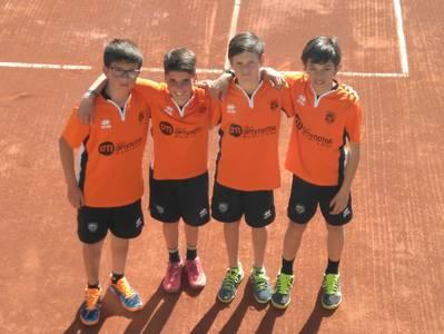 Los equipos masculinos infantil y el alevín dan la cara a la Liga Comarcal