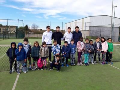 Cierra una nueva gran temporada de la Escuela Municipal de Tenis