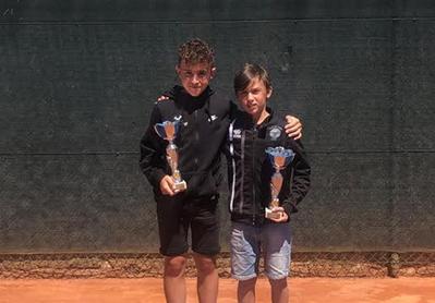 Tres títulos para el Tenis Urgell en el Abierto Prat Llongueras del CT Lleida