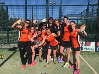 Quinto título para el equipo femenino de pádel