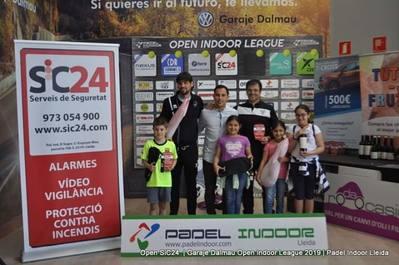 Turmo-Tella ganan el Campeonato de Segundas del Pádel Indoor Lleida