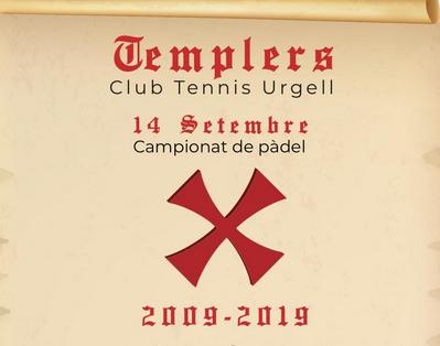 El 14 de septiembre vuelve el Torneo Templarios